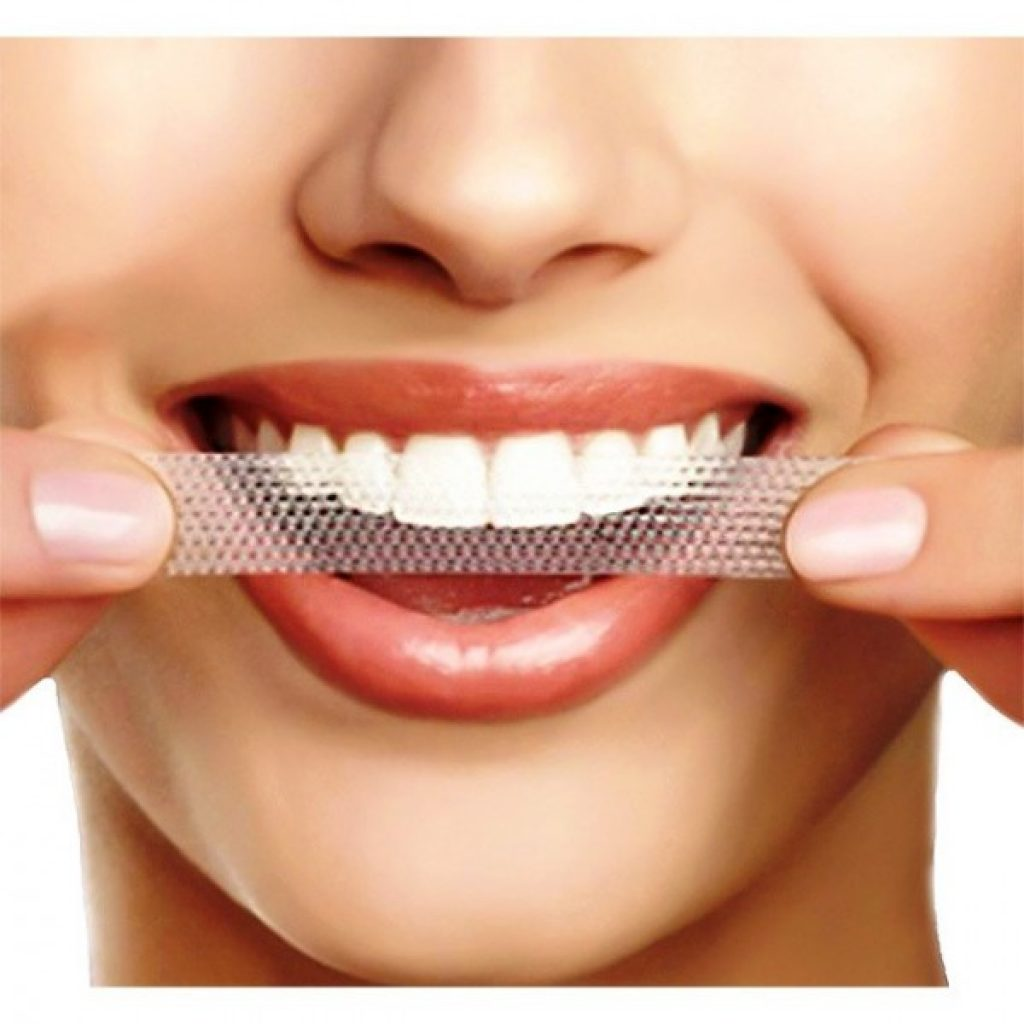 Private label whitening strips